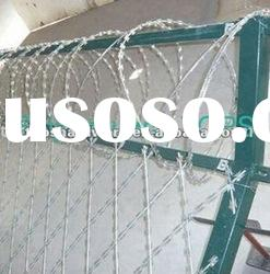 galvanized razor barbed wire(factory price)