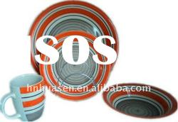 hand painted dinnerware sets,colorful dinnerware sets