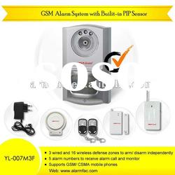 home security alarm company/GSM wireless home business security...
