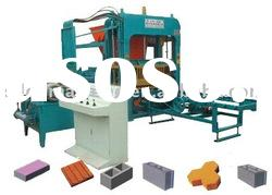 hydraulic fly ash brick shaping machines