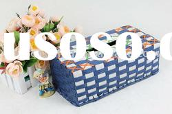 manual woven cute Tissue Box