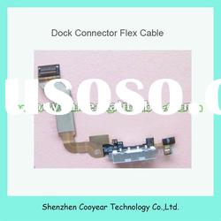 original new for iphone 4s data dock connector charger port white and black paypal is accepted
