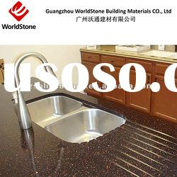 pure acrylic solid surface under countertop single sink