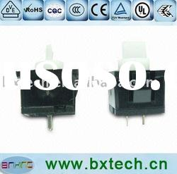 push button switch Rated load DC 12V 0.1A, withstanding voltage AC 500V 1min