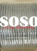 pvc coated steel wire rope plastic coated stainless steel wire rope