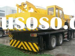 second hand hydraulic truck crane TG650E for sale original in Dubai truck crane