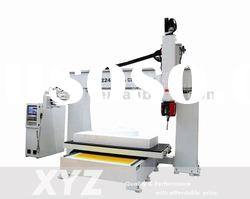 small cnc router for foam mold XYZ 1224-5 axis