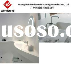 solid surface composite acrylic barthroom vanity top
