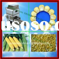 sweet corn threshing machine/fresh corn thresher(0086-13838347135)