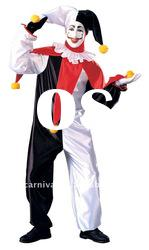 top sale funny clown dress/carnival party costume/funny fancy dress for men(BSMC-0147)