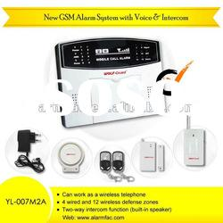 wireless auto dial home security alarm system/intruder alarm /home security alarm system