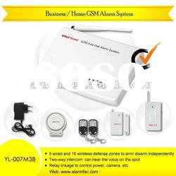 wireless gsm safe home alarm /mini gsm home alarm/gsm home intruder alarm