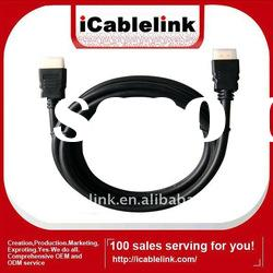 1.8M Gold Plated HDMI Cable Version 1.4 support HD1080P HDMI Ethernet