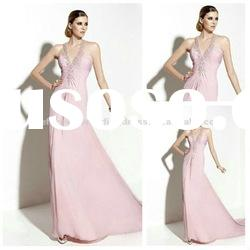 2012 New Style Chiffon Cheap Evening Dresses Gowns