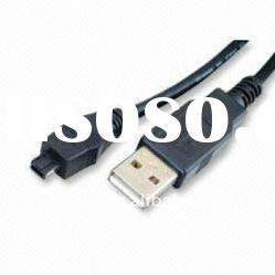 2.0 Mini USB DC Cable USB AM-Mini USB 4P-A Type/ usb plug connector adaptor cable