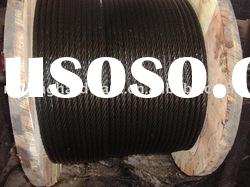 6*7+FC galvanized steel wire rope for Cable Carriage