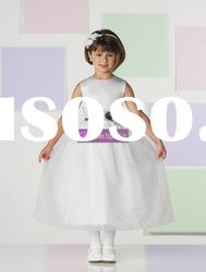 Ball Gown Scoop Organza Flower Girl Dresses for Weddings 2010