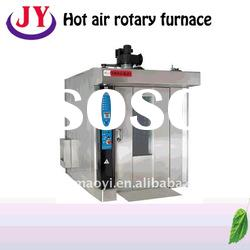 China automatic Hot air bread rotary furnace bread baking oven, bread baking machine