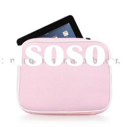 Custom Protective Soft Cloth Case with Strap for Apple iPad - Pink
