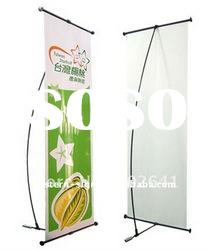 Economical L Banner Stand