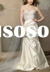 Elegant long train designer wedding dresses NSW3194