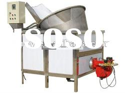 Gas frying equipment for peanut/coating nut/green bean/broad bean