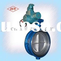 High-Performance Electric Actuator Butterfly Valve