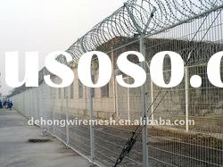 Hot Dipped Galvanized Razor Wire Fencing(factory)
