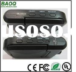 Hot sales car video recorder with 8x Digital Zoom.