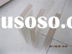 Hot sell WHITE melamine MDF wood for furniture