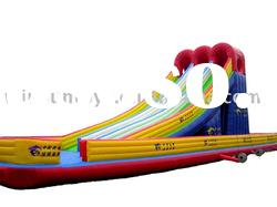 Inflatable big slide,giant inflatable water slide