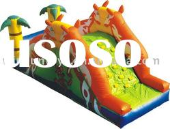 Inflatable kids slide, animal inflatable slide