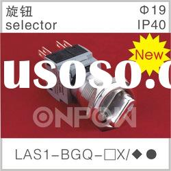 LAS1-BGQ selector(metal push button,selector push button switch)