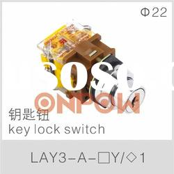LAY3 -A key lock switch(key switch, key switch lock )