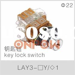 LAY3 key lock switch(key switch,key switch lock )