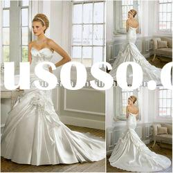 OMYD020 High Quality And Hot Sale Mermaid Wedding Dress 2012