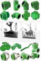 PVC Pipe fitting mould(plastic pipe fitting mould, injection mould)