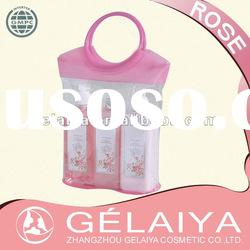 Pink PVC Bag Spa Gift Set