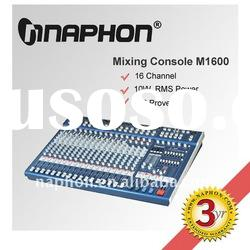 Professional 16 Channel Mixing Console/ Audio mixer M1600