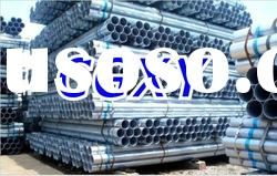Q195 Hot Rolled Galvanized Steel Pipe/Tube