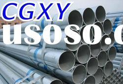 Q235 Hot Rolled Galvanized Steel Pipe/Tube