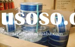 clear Bopp printed packing adhesive tape
