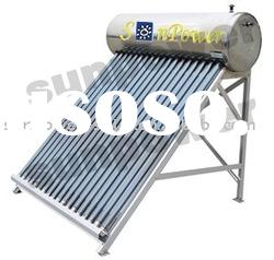 direct-plug solar water heater