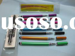 for iphone 2in1 capacitive touch pen with ball point pen