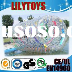 inflatable water walking roller /inflatable ground walking zorb ball