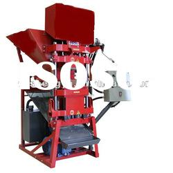 interlocking brick making machine ,hollow clay brick making machine SY-4