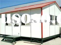 light steel prefabricated house for construction site