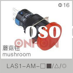 mushroom electrical switch LAS1-A(electrical push button switch,mushroom button switch)