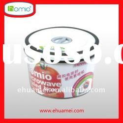 plastic container/food container/fresh food keeping box/microwave airtight box