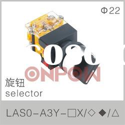 selector LAS0-A3(selector push button switch,selector knob switch)